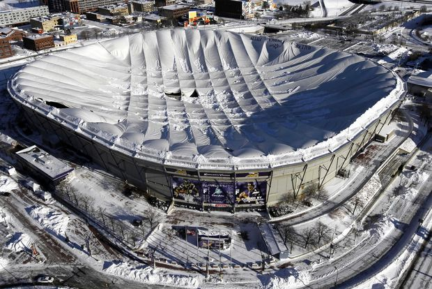 Metrodome+Collapse