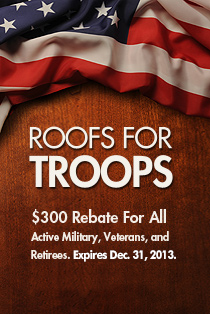GAF offers discounts for Troops!