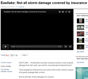 Eastlake: Not all storm damage covered by insurance